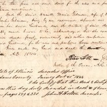 Image of Deed / Charles Gilman and Annette Maria Gilman to  Daniel Torrey et al.