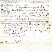 Image of Deed, John K. & Maria M. Vandoorn to A. C. Hall