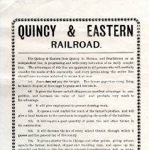 Image of Quincy & Eastern Railroad