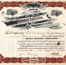 Image of D557 - Certificate, Stock