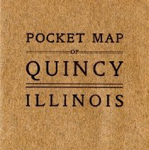 Image of Pocket Map of Quincy Illinois