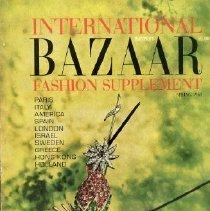 Image of Harper's Bazaar (American), Spring 1963, International Fashion Supplement