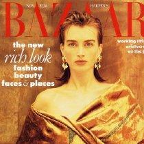 Image of Harper's Bazaar (American), November 1989