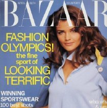 Image of Harper's Bazaar (American), April 1992