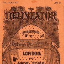 Image of The Delineator, December 1888