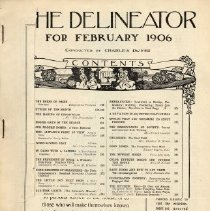 Image of Delineator, February 1906