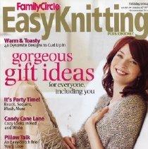 Image of Easy Knitting, Holiday 2004