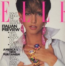 Image of Elle (American), August 1990, Italian Preview