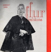 Image of Fur Fashions, August 1948