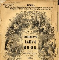 Image of Godey's Lady's Book, April 1874