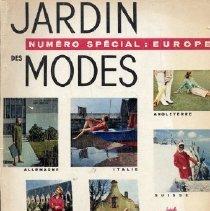 Image of Jardin Des Modes, July 1957