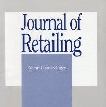 Image of Journal of Retailing, Spring 1995