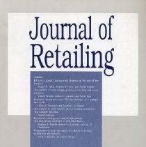 Image of Journal of Retailing, Summer 2001