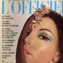 Image of L'Officiel (French), April 1970