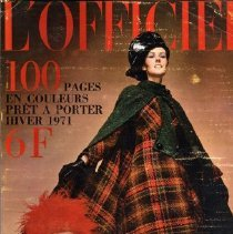 Image of L'Officiel (French), Fall 1970, Supplement Winter 1971 Special Preview