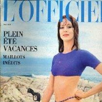 Image of L'Officiel (French), June 1971