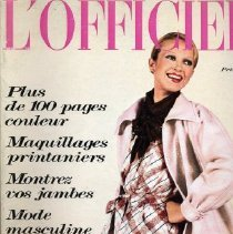 Image of L'Officiel (French), Spring/Summer 1973, No. 599, Special Collections Supplement