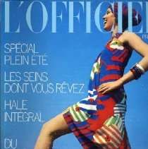 Image of L'Officiel (French), Summer 1974, No. 600, Supplement