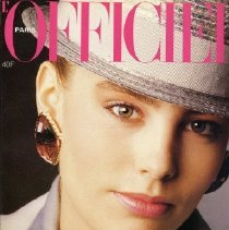 Image of L'Officiel (French), March 1984