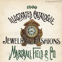 Image of Marshall Field's, 1896, Fashion and Jewelry Illustrated Catalog