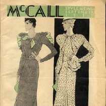Image of McCall's Style News, September 1933