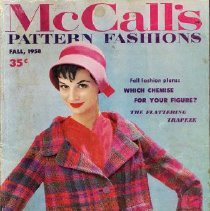 Image of McCall's Pattern Fashions, Fall 1958