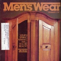 Image of Men's Wear, November 23, 1981