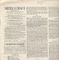 Image of Needlecraft, May 1917
