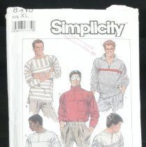 Image of Men's or teen-boys' pullover knit top