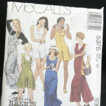 Image of Misses' jumpsuits in two lengths and t-shirt