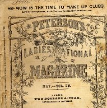 Image of Peterson's Ladies National Magazine, May 1869