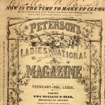 Image of Peterson's Ladies National Magazine, February 1878