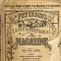Image of Peterson's Ladies National Magazine, May 1878