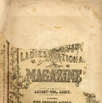 Image of Peterson's Ladies National Magazine, August 1878