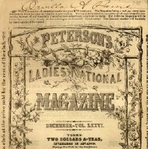 Image of Peterson's Ladies National Magazine, December 1879