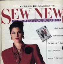 Image of Sew News, October 1988