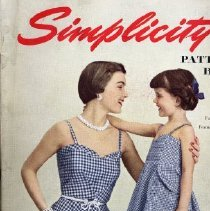 Image of Simplicity Pattern Book, Vacation 1950