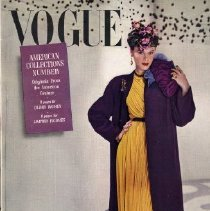 Image of Vogue (American), September 15, 1941, American Collections Number: Originals from the American Couture