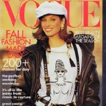 Image of Vogue (American), August 1992.