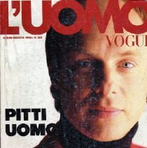 Image of Vogue (Italian-Men), July/August 1986