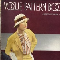 Image of Vogue Pattern Book, August/September 1932