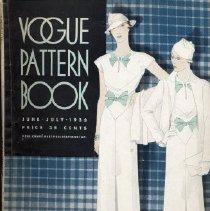Image of Vogue Pattern Book, June/July 1933