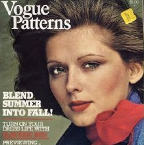 Image of Vogue Pattern Book, July/August 1974