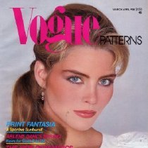 Image of Vogue Pattern Book, March/April 1981