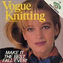 Image of Vogue Knitting, Fall/Winter 1984