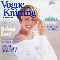 Image of Vogue Knitting, Spring/Summer 1989