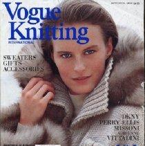 Image of Vogue Knitting, Winter 1989-1990