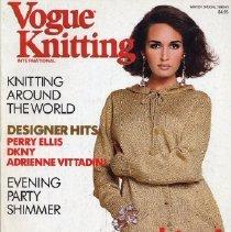 Image of Vogue Knitting, Winter 1990-1991