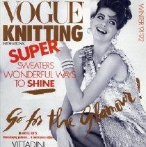 Image of Vogue Knitting, Winter 1991-1992