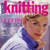 Image of Vogue Knitting, Winter 2001-2002